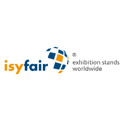 Logo bedrijf isyfair exibition stands